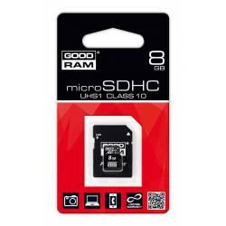 Карта памет GOODRAM Micro SD 8GB class 10
