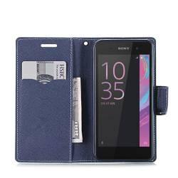 Кожен калъф Fancy Diary за Sony Xperia E5