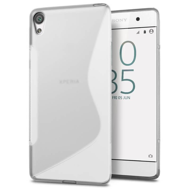 Силиконов гръб S-line за Sony Xperia E5