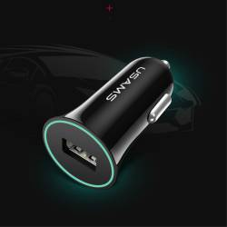 Usams универсално зарядно за кола USB 12V