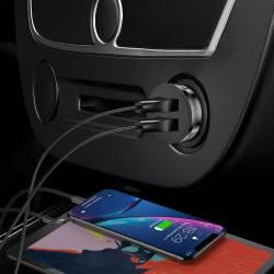 REMAX универсално зарядно за кола 12V с два USB изхода