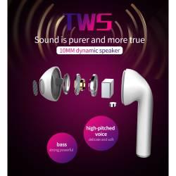 TWS H20 Bluetooth безжични стерео слушалки с микрофон