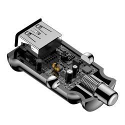 Baseus Grain зарядно за кола с 2 USB 3.1A