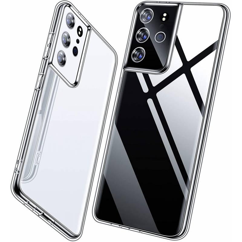 Air Case ултра тънък силиконов гръб за Samsung Galaxy S21 Ultra