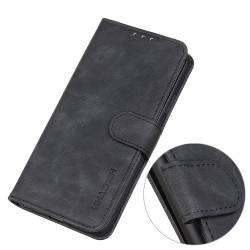 Classic Wallet кожен калъф за Samsung Galaxy S21 Ultra - черен