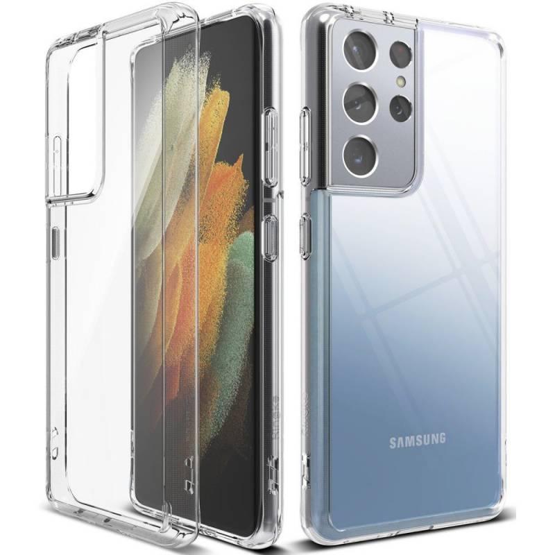 Ringke Fusion PC противоударен кейс за Samsung Galaxy S21 Ultra