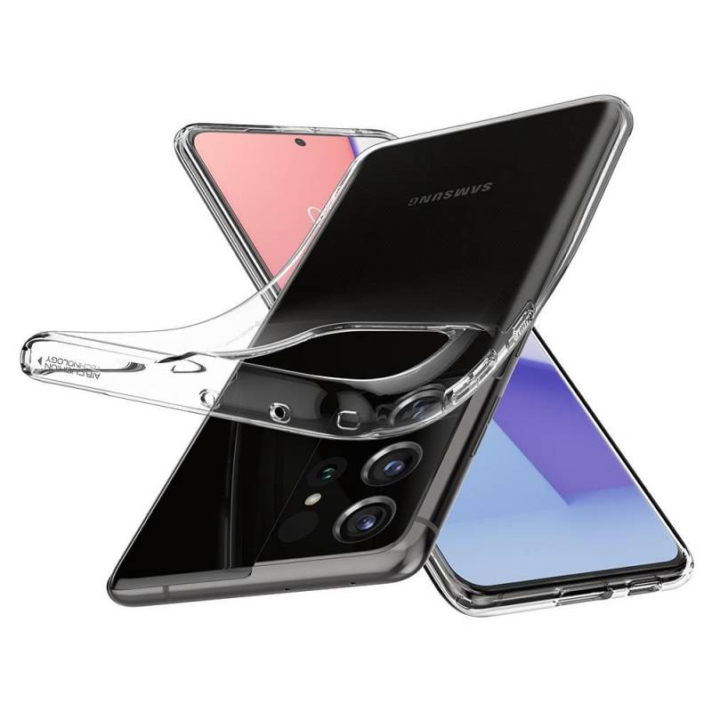 Spigen Liquid Crystal за Samsung Galaxy S21 Ultra
