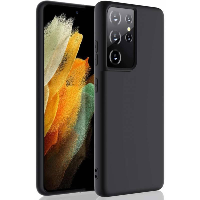 Anti Slip матов силиконов кейс за Samsung Galaxy S21 Ultra