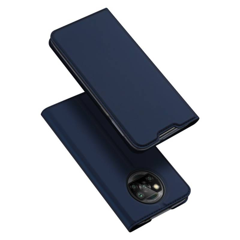 Dux Ducis луксозен кожен калъф за Xiaomi Poco X3 NFC