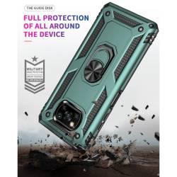 Противоударен гръб с kick stand стойка за Xiaomi Poco X3 NFC
