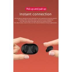 52426 - TWS A6s Bluetooth безжични стерео слушалки с микрофон - 100101945