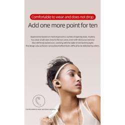 52428 - TWS A6s Bluetooth безжични стерео слушалки с микрофон - 100101945