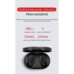 52430 - TWS A6s Bluetooth безжични стерео слушалки с микрофон - 100101945