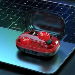 52455 - TWS А42 Bluetooth безжични стерео слушалки с микрофон - 100102606