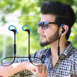 52519 - Спортни безжични стерео слушалки с микрофон - 100101888
