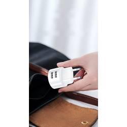 52560 - USAMS T20 зарядно с 2 USB входа 2.1A - 101601081