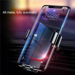 52630 - Baseus Metal Age Gravity универсална стойка за вентилация на автомобил - 102101611