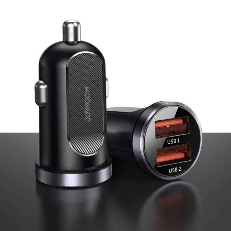 52731 - JOYROOM QC3.0 30W зарядно за кола с 2 USB 4.5A - 102700620