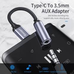 52786 - Essager USB Type-C към 3.5 мм аудио вход - 661800001