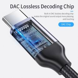 52789 - Essager USB Type-C към 3.5 мм аудио вход - 661800001