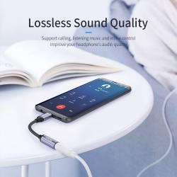 52791 - Essager USB Type-C към 3.5 мм аудио вход - 661800001