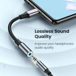 52796 - USB Type-C към 3.5 мм аудио вход - C0002836