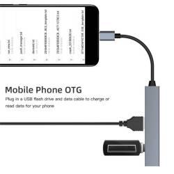52802 - Мултифункционален Type-C към USB 2.0 хъб - 661900008