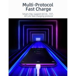 52877 - Essager Micro USB кабел 5V 3A QC 3.0 2M - 662800682