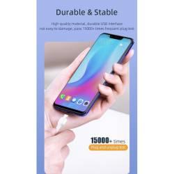 52879 - Essager Micro USB кабел 5V 3A QC 3.0 2M - 662800682
