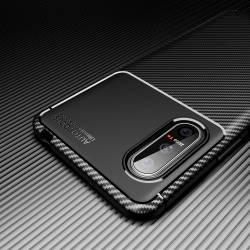 iPaky Carbon силиконов кейс за Sony Xperia 5 II - 54335